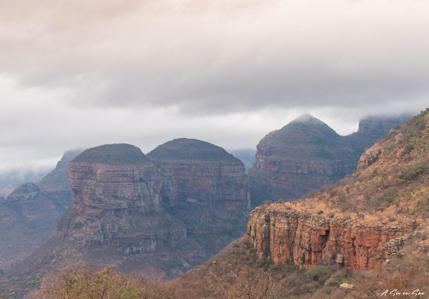les Three Rondavels de la province du Mpumalanga aux portes du parc Kruger ( et son emblématique Blyde River Canyon )