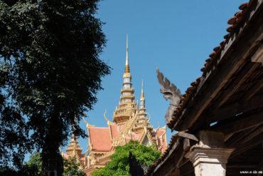 Temple Samrong Knong, Battambang, Cambodge