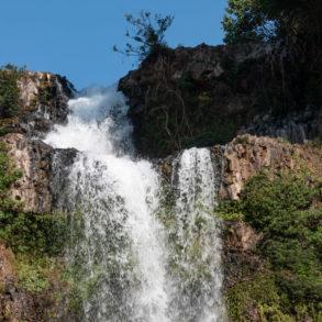 haut de la cascade de Tad Huang, petite boucle du plateau des Bolovens au Laos