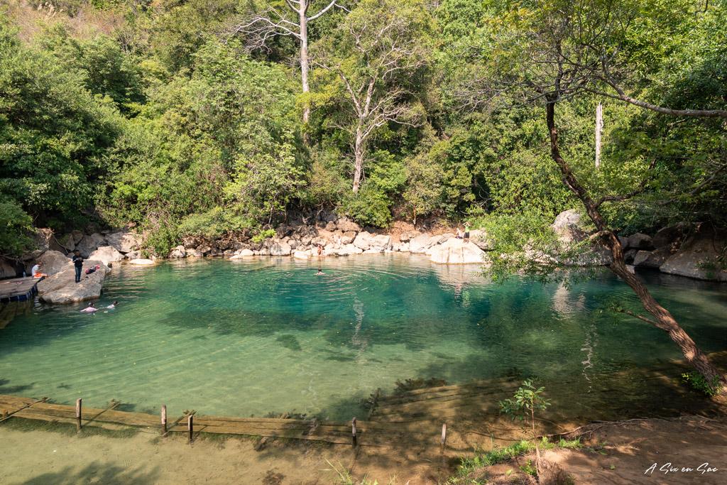 bassin principal des cool pools sur la route de Nahin