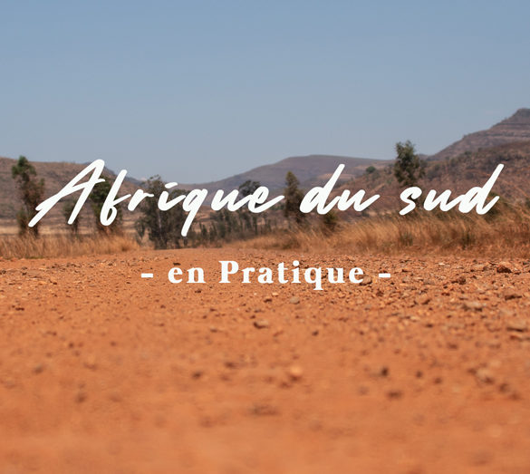 Terre rouge d'afrique du sud TDM en famille TDM voyage itinérant backpacks photos