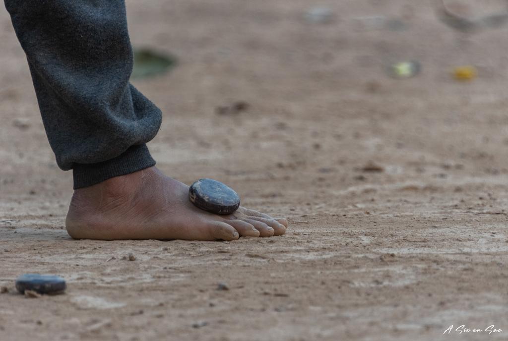 jeux du palet dans le bilan pratique de nos 29 jours au Laos