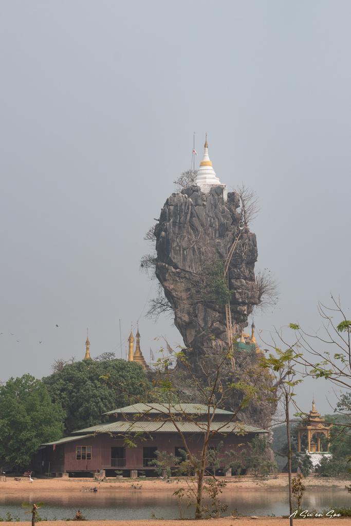 monastère de Kyauk Kalaap Myanmar ( fiche pratique )