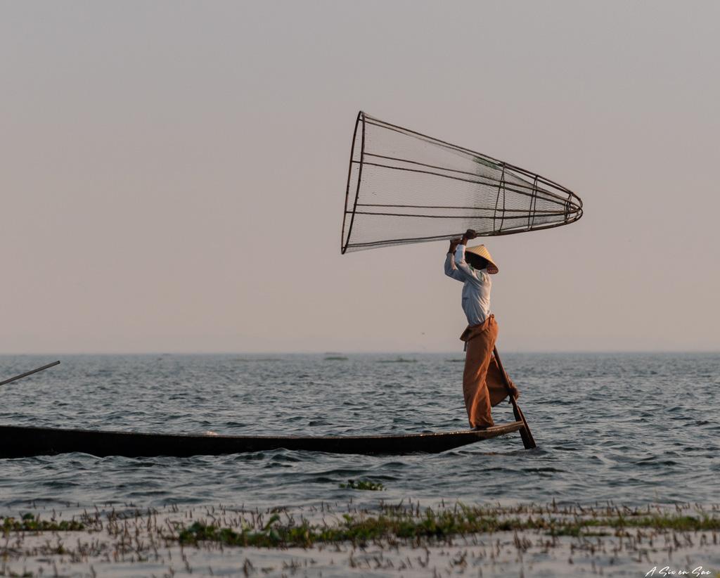 pecheur du lac Inle Myanmar ( fiche pratique )