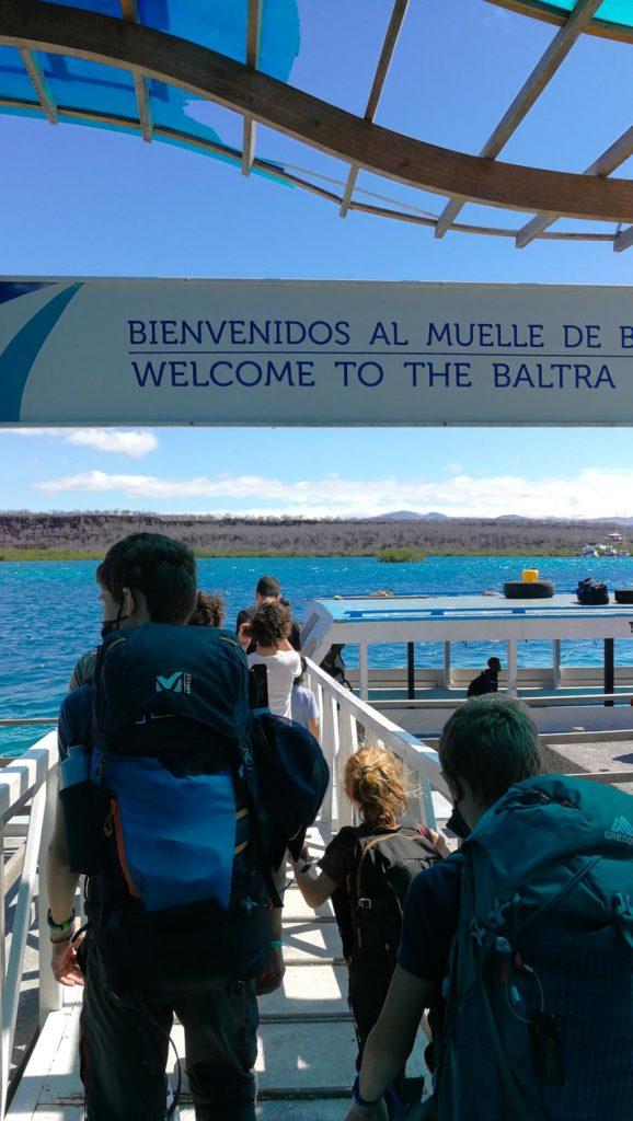port-de-baltra-Arriver aux Galapagos en période de Covid