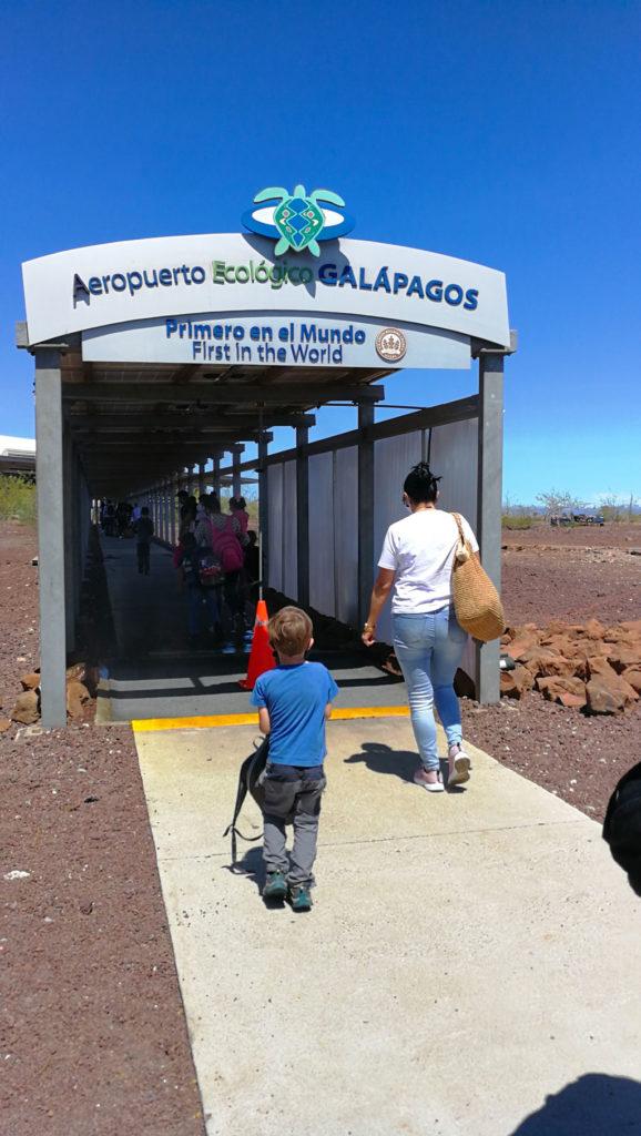 aéroport-baltra-Arriver aux Galapagos en période de Covid