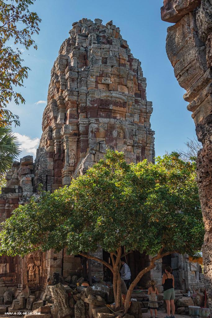 temple de Phnom Banan-Battambang-Cambodge