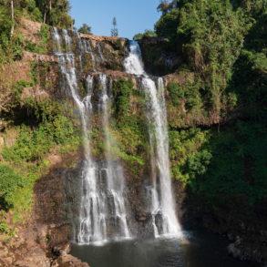 cascade de Tad Yuang dans bilan pratique de nos 29 jours au Laos