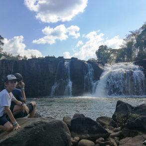 cascade de tad hang à coté de Tad Lo