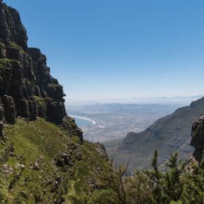 Cape town depuis la gorge de Pletteklip Bilan de nos 49 jours en Afrique du Sud TDM en famille