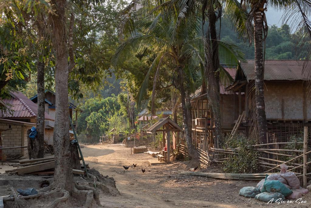 Village de HOuey Sen au Nord du Laos