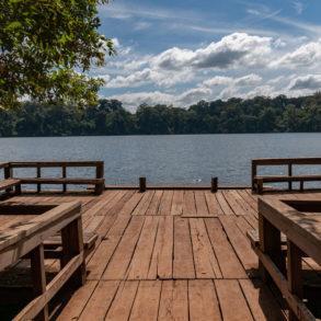 ponton du lac Boeng Yeak Lom-Cambodge fiche pratique
