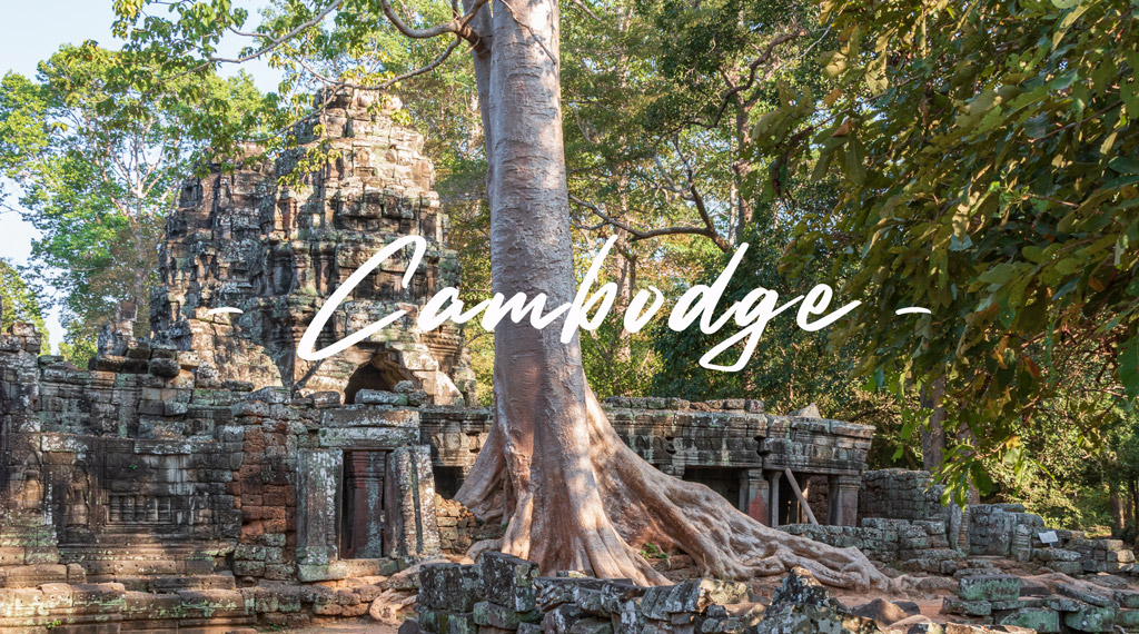 Cambodge TDM backpack famille