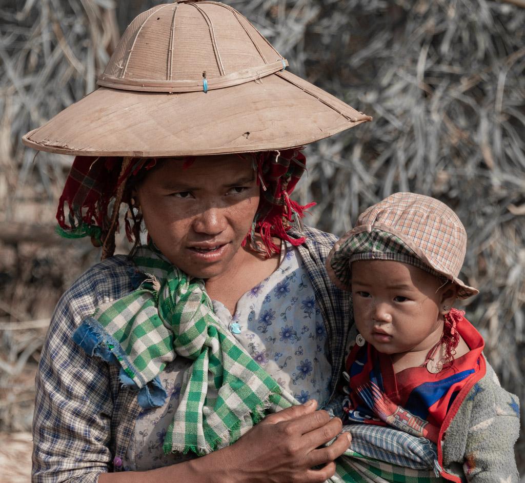Myanmar TDM backpack famille