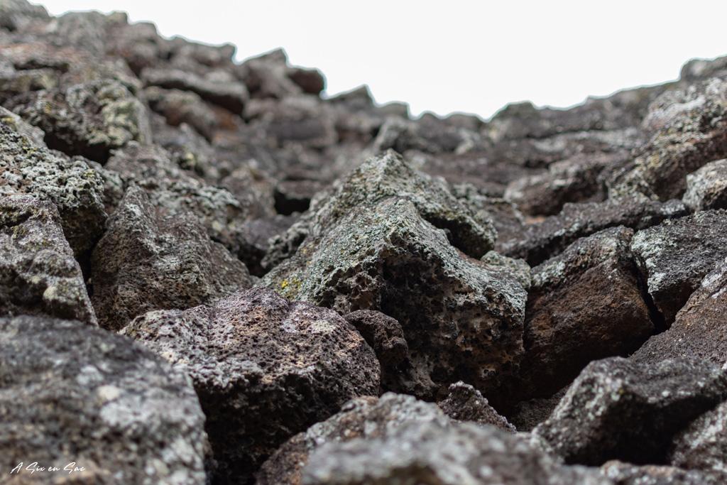 portion du mur des larmes sur l'île d' Isabela Galapagos novembre 2020